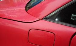 oxidized Mercedes SLK230 (before)