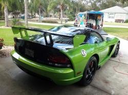 2010 Dodge Viper show polish